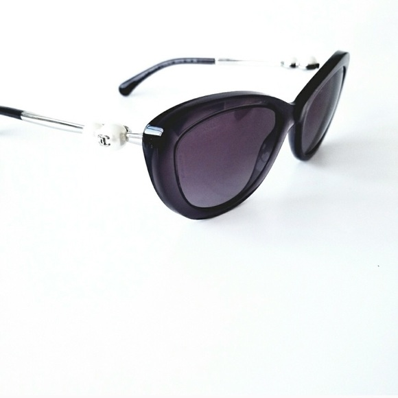 760e258b04 CHANEL Accessories - Chanel Lavender Cateye Pearl Sunglasses